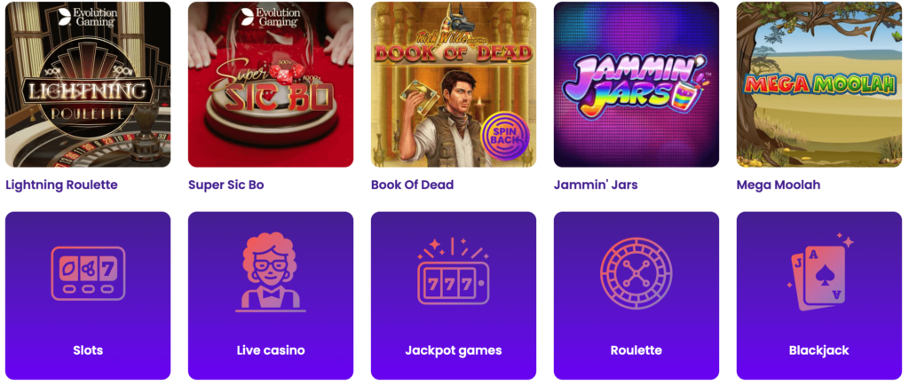 Play your favorite Casino Games at Wildz Casino!