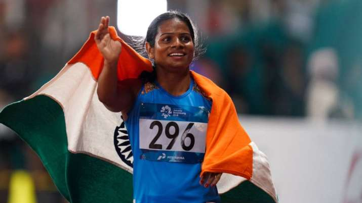 Dutee Chand Tokyo Olypics