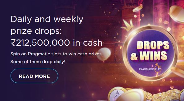 Weekly Prizes From A Prize Pool Worth ₹5,312,500